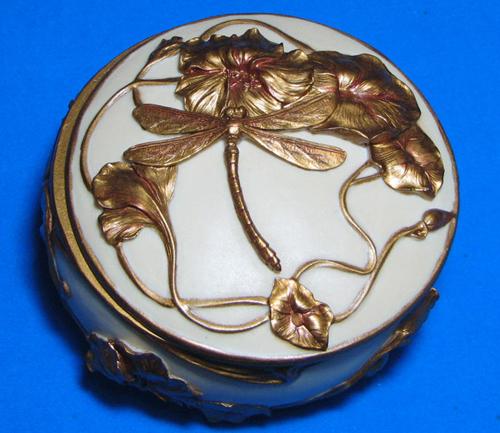 1488 Art Nouveau Dragonfly Jewelry Box Wholesale Rosaries