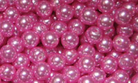 2149 - Pearl Coat - Pink Round 6mm