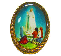1870 - Pin - Our Lady of Fatima