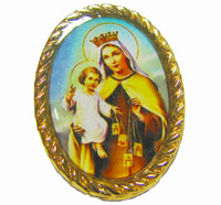 1871 - Pin - Our Lady of Mount Carmel
