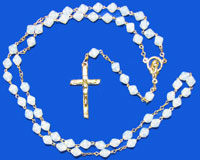 2120 - Glass Rosary - BicO