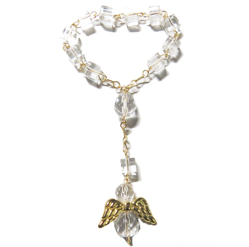 2246 - Angel 1-Decade Rosary - C4C