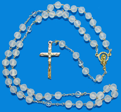 1584 - Glass Rosary - 11202CM