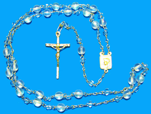 1592 - Glass Rosary - BP6CAB