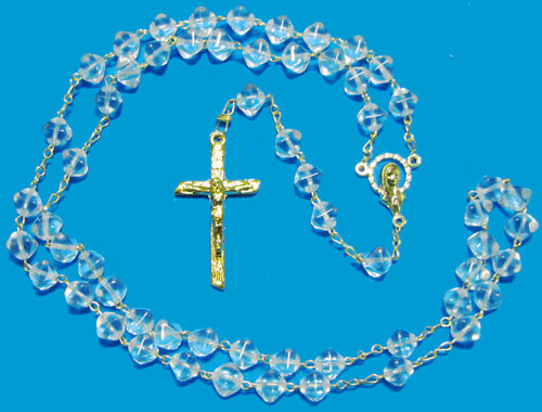 1016 - Glass Rosary Style Pir-C