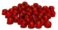 2003 - Seed Beads 10/0 Silver - Lined Red- SH