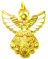 2281 - Golden Angel Pendant