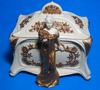 1489 - Art Nouveau - Lady Jewelry Box