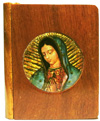 2269 - Wood Box - Our Lady of Guadalupe