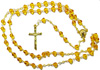 2299 - Glass Rosary - PirAmber