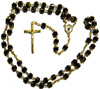 2314 - Fire Polished Rosary - JG