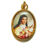 1529 - Medal - St. Therese of Lisieux