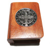 2240 - Wooden Box - Saint Benedict
